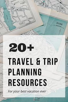 Favourite travel and trip planning resources to help you plan and book custom trips of a lifetime by Untold Morsels travel blog