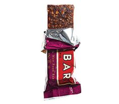 Energy bar containing at least four grams of protein (like Lärabar Cherry Pie).