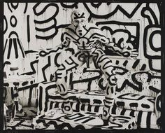 Annie Leibovitz, Keith Haring, New York, 1986