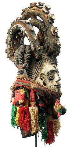 Igbo Maiden Spirit Mask 16, Nigeria