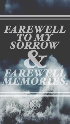 The Amity Affliction- Farewell