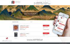 ARTBID – Leilões de Arte on-line (restyling)