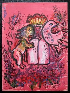 Marc Chagall:  Lion Tablets Frontispiece