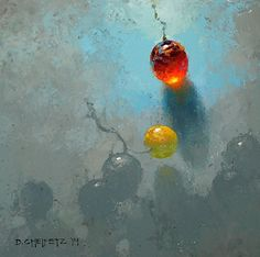 The Grape by David Cheifetz Oil ~ 6 x 6