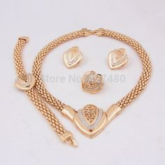 Gold Plated Costume Jewelry | sale-costume-jewelry-set-latest-fashion-trendy-top-quality-gold-plated ...