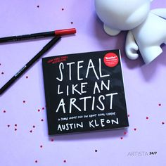Uno de mis libros favoritos para #artistas ¿a qué esperas para leerlo? Austin Kleon, New York Times, Cover, Creative, Books, Artists, Libros, Book, Book Illustrations