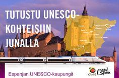 Tutustu Unesco-kohteisiin junalla - voita InterRail Global Pass http://www.rantapallo.fi/tutustu-unesco-kohteisiin-junalla/