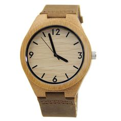 Wood Engraved Watch Personalized Watch Gift for Him by CabanyCo Watch Engraving, Wooden Watch, Wood Grain, Groomsmen, Gold Watch, Gifts For Him, Watches, Accessories, Ideas