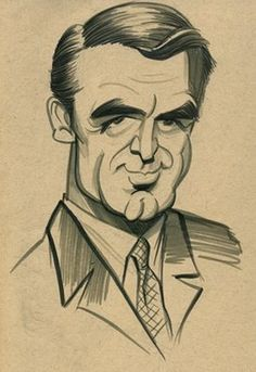 Cary Grant (by Zack Wallenfang)