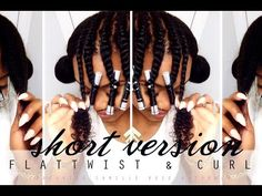 THE BEST FLAT TWIST OUT TUTORIAL ft Camille Rose Naturals   Yolanda Renee - YouTube