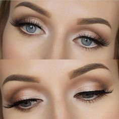 Classic Shimmer Eyeshadow Makeup | Wedding Makeup | Makeup Inspiration | Source: makeupwithtea.com