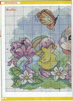 Easter Chicks & Rabbit Chart 1