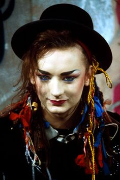 3 x Boy George Culture Club singer songwriter young younger early years photo DJ icon photo picture print Boy George, 80s Makeup Trends, Ballet Folklorico, Gyms Near Me, Culture Clothing, Culture Club, Matthew Mcconaughey, Boy Fashion, Fitness Inspiration