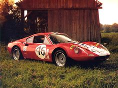 Ferrari Dino 246 GT Gr.4 '1972 Produced in a single copy