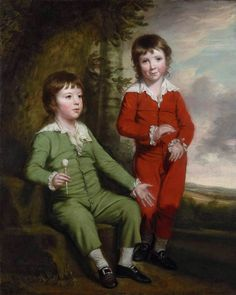 """""""PORTRAIT OF THE CHILDREN OF CHARLES BLAIR, (1738-1806), 1769"""