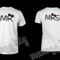 Image detail for -Mr & Mrs Mickey couple shirts