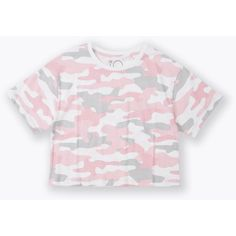 Bring some style to her wardrobe with the K-D Camo Print Cropped Tee. Crafted from comfy cotton, this piece features an all over print and a cropped finish. Camo Print, Crop Tee, Jacket Dress, Chloe, Girl Outfits, Big, Tees, Birthday, Girls