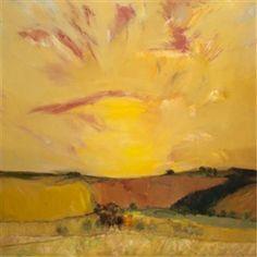 Sunset over Fife by John Houston