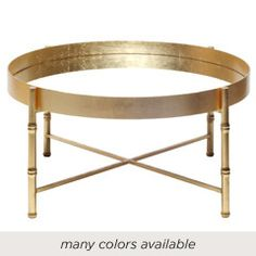 Worlds Away Margarey Tray Coffee Table COL-WA70