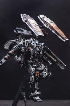 MG FA-78 Gundam Thunderbolt ver. Ka by thewolfz | Gundam Century