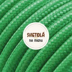 Textilné káble rôznofarebné Luster
