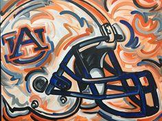 24x30 Officially Licensed Auburn University by stormstriker