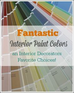 Interior house paint colors - Picking paint colors, paint sheens, and perfect trim colors!