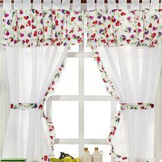 cortina estampada cocina - Buscar con Google