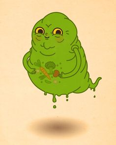 """slimer - """"Just Like Us"""" - Mike Mitchell"""