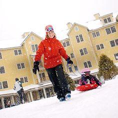 10 Best Snow Resorts: 1. Jackson Gore Inn (via Parents.com)