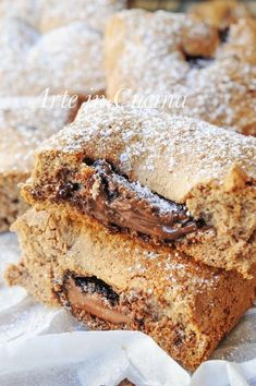 Nutella Recipes, Chocolate Recipes, Sweet Corner, Sweet Cooking, Cooking Cake, Italian Desserts, Breakfast Cake, Sweet Cakes, Dessert Bars