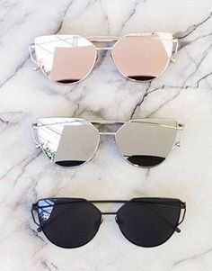 Metal Frame Trendy Sunglasses - Awesome World - Online Store - 15 Cute Glasses, Glasses Frames, Cat Eye Sunglasses, Sunglasses Women, Sunglasses Sale, Gold Sunglasses, Sunglasses Online, Summer Sunglasses, Coque Smartphone