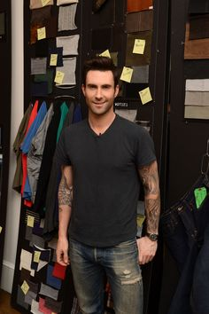 Today's eye candy is brought to you by…Adam Levine! Yum, yum!