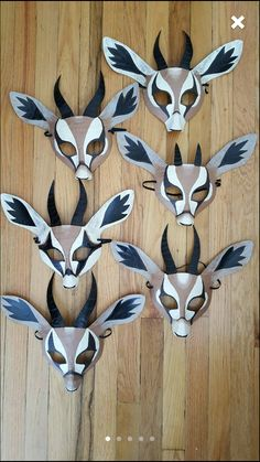 Gazelle masks
