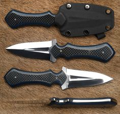 Knives and Blades Cool Knives, Knives And Tools, Knives And Swords, Unique Knives, Tactical Knives, Tactical Gear, Survival Knife, Survival Gear, Neck Knife
