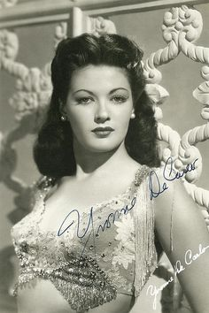 """Yvonne De Carlo also known as """"Lily Munster"""""""