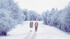 '' Directed and animated by Alica Gurinova Owl Illustration, Animation Film, Winter Wonderland, Snow, Happy, Illustrator, Beautiful, Ser Feliz, Illustrators