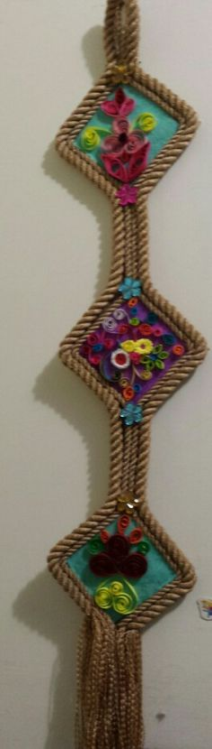 Wall hanging made by me