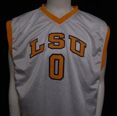 LSU Basketball Jersey Extra Large #0 Louisiana State University Tigers NCAA #Starter #LSUTigers