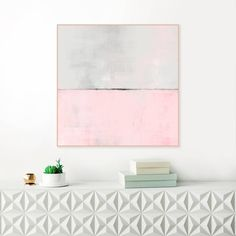 Pink Abstract Art, Large Pink Painting, Modern Abstract Print, Minimalist Painting, Original Wall Art, Oversized Wall Art by InspirationAbstracts on Etsy https://www.etsy.com/uk/listing/489722036/pink-abstract-art-large-pink-painting