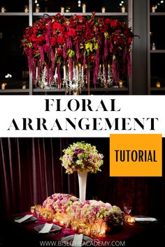 Flower Arrangements DIY How To Make, floristry for beginners, how to arrange flowers in a vase, modern flower arrangements, how to make a floral arrangements List Of Flowers, Large Flowers, Fresh Flowers, Floristry For Beginners, Modern Flower Arrangements, Line Flower, Coming Up Roses, Floral Foam, Floral Centerpieces