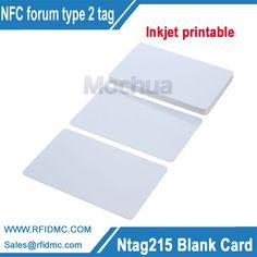Ntag215 card, ntag215 inkjet printable Card for Espon printer, Canon printer