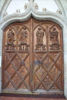 Church doors Altotting Germany