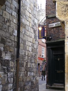 Bootham Bar, High Petergate, York, England < just up the road from Mix Towers!