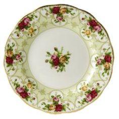 royal albert rose cameo plate