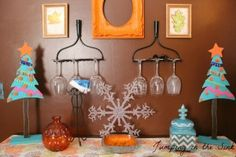 Upcycle Your Old Decorations | Jumping in the Sink