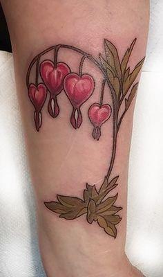 bleeding heart flower tattoo | Sister Tattoo Ideas ...
