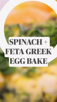 Greek Recipes, Egg Recipes, Kitchen Recipes, Brunch Recipes, Appetizer Recipes, Breakfast Recipes, Cooking Recipes, Brunch Ideas, Recipies