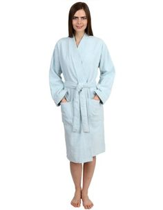64a9002c1d TowelSelections Turkish Cotton Terry Bathrobe Kimono Collar Robe Made in  Turkey Lilac Collection terry cloth kimono robes are made of top quality  Turkish