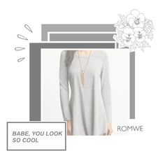 """""""ROMWE"""" by almerisaaa ❤ liked on Polyvore featuring Old Navy"""